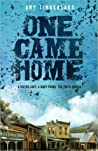 One Came Home ebook download free