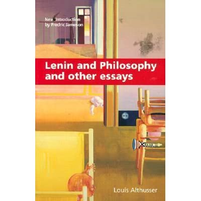 louis althusser essay