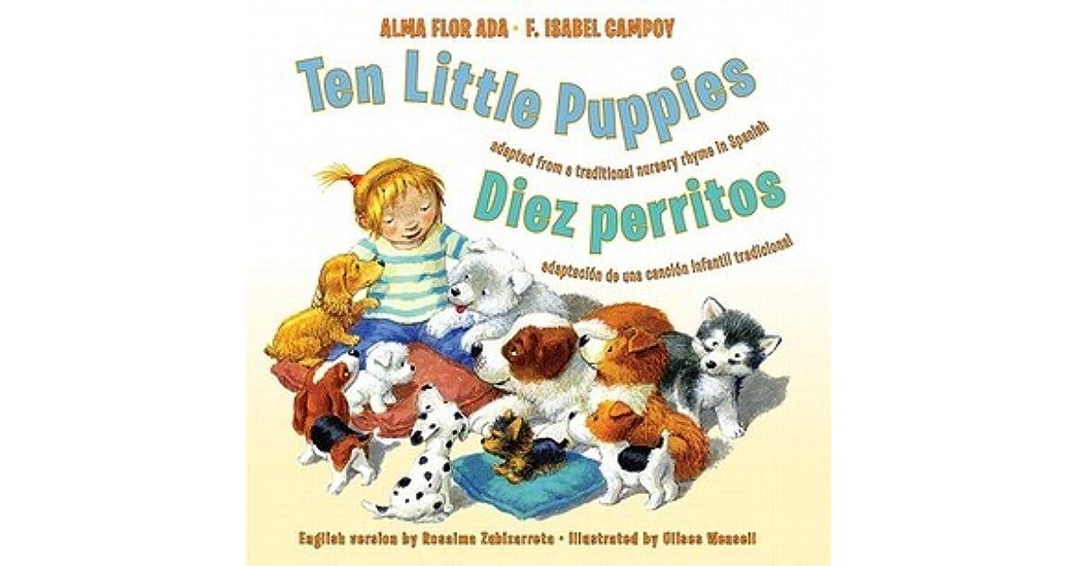 Ten Little Puppies/Diez perritos: Bilingual Spanish-English