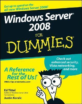 Windows Server 2008 for Dummies (ISBN - 0470180439)
