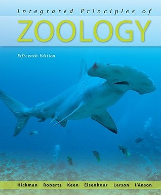 Integrated Principles Of Zoology By Cleveland P Hickman Jr