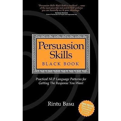 Persuasion Skills Black Book By Rintu Basu Pdf