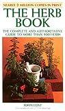 The Herb Book by John B. Lust