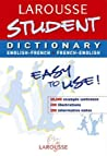 Student Dictionary French English (Larousse School Dictionary)