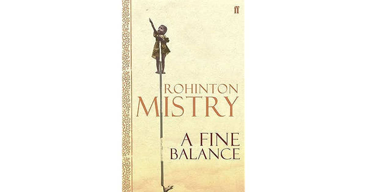 a fine balance rohinton mistry A fine balance by rohinton mistry, 9781400030651, available at book depository with free delivery worldwide.
