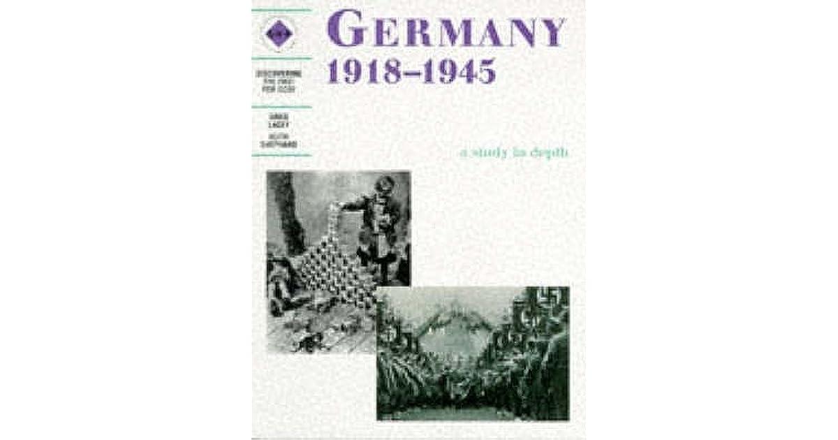 Depth Study Germany 1919-1945 - WORSFOLD'S WORLD