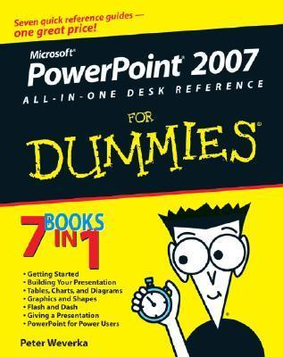 PowerPoint 2007 All-in-One Desk Reference for Dummies (ISBN - 0470040629)