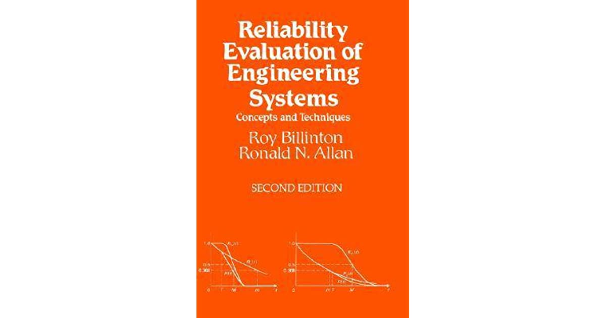Reliability Evaluation Of Power Systems By Roy Billinton Pdf Download