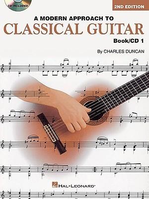 A Modern Approach to Classical Guitar Book/CD 1