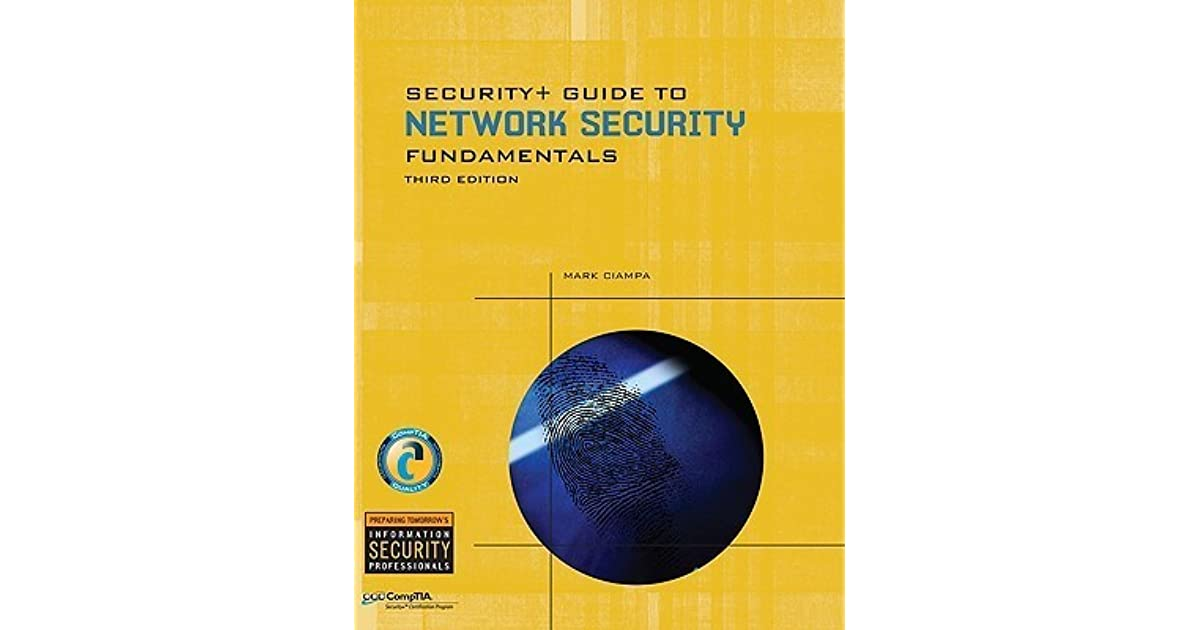 Security+ Guide To Network Security Fundamentals 5th Edition Pdf