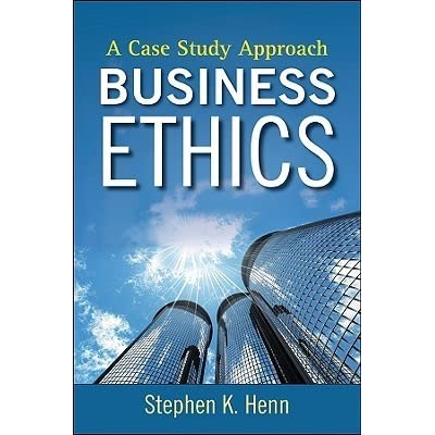 business ethics case study 3 5 Business ethics case studies: purchase process: 1] select cases 2] add to cart 3] simplified case studies short case studies business ethics business environment.