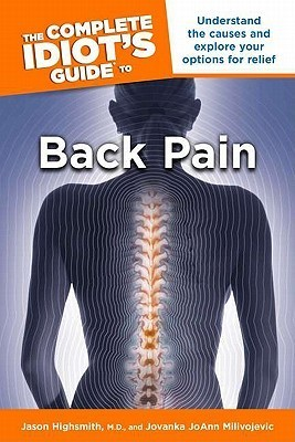 complete idiots guide to back pain