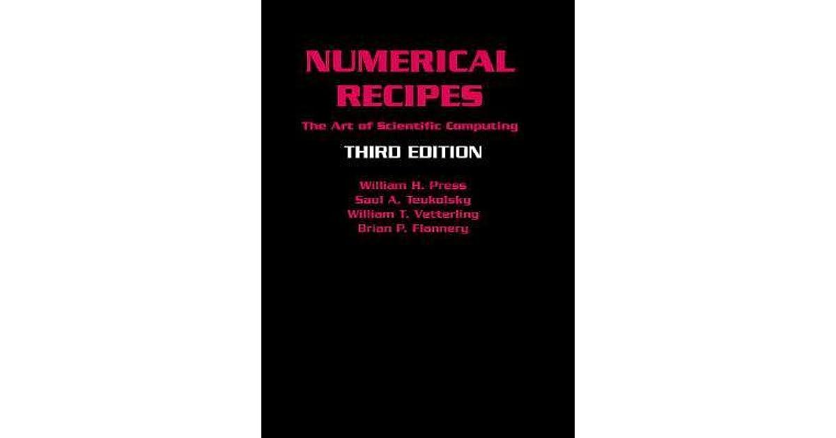 Numerical Recipes In C Ebook