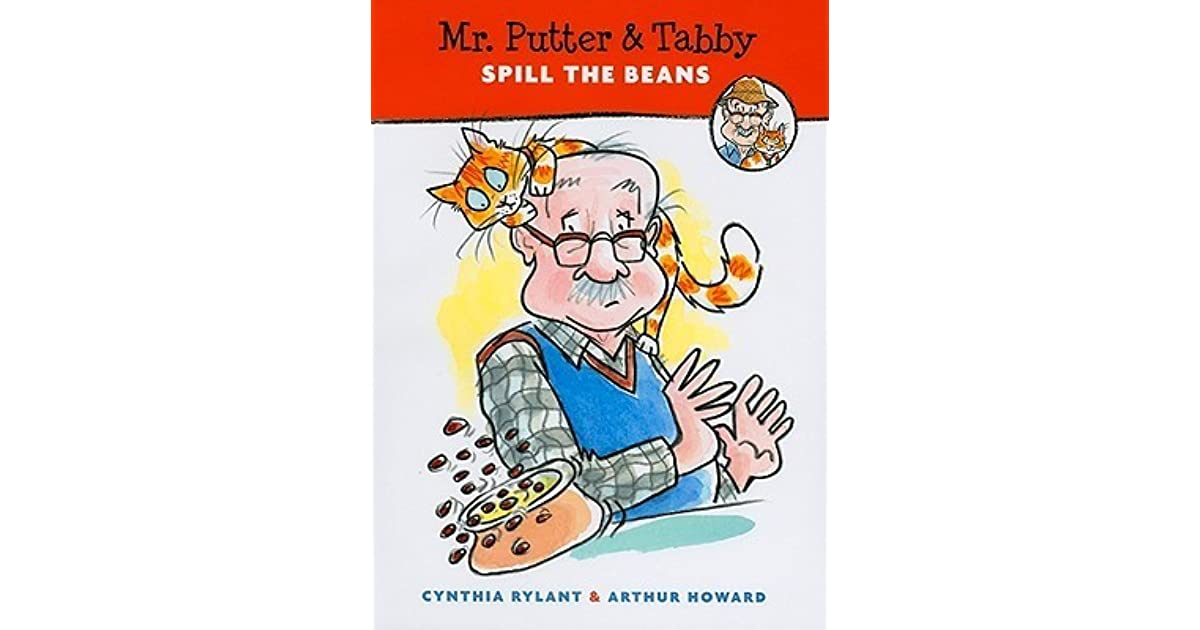 Mr Putter Tabby Spill The Beans By Cynthia Rylant