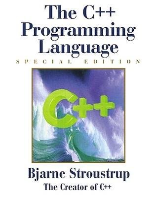 The C++ Programming Language by Bjarne Stroustrup