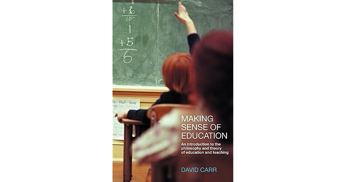 Download PDF Making Sense of Education: An Introduction to the