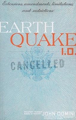 Earthquake I.D. by John Domini