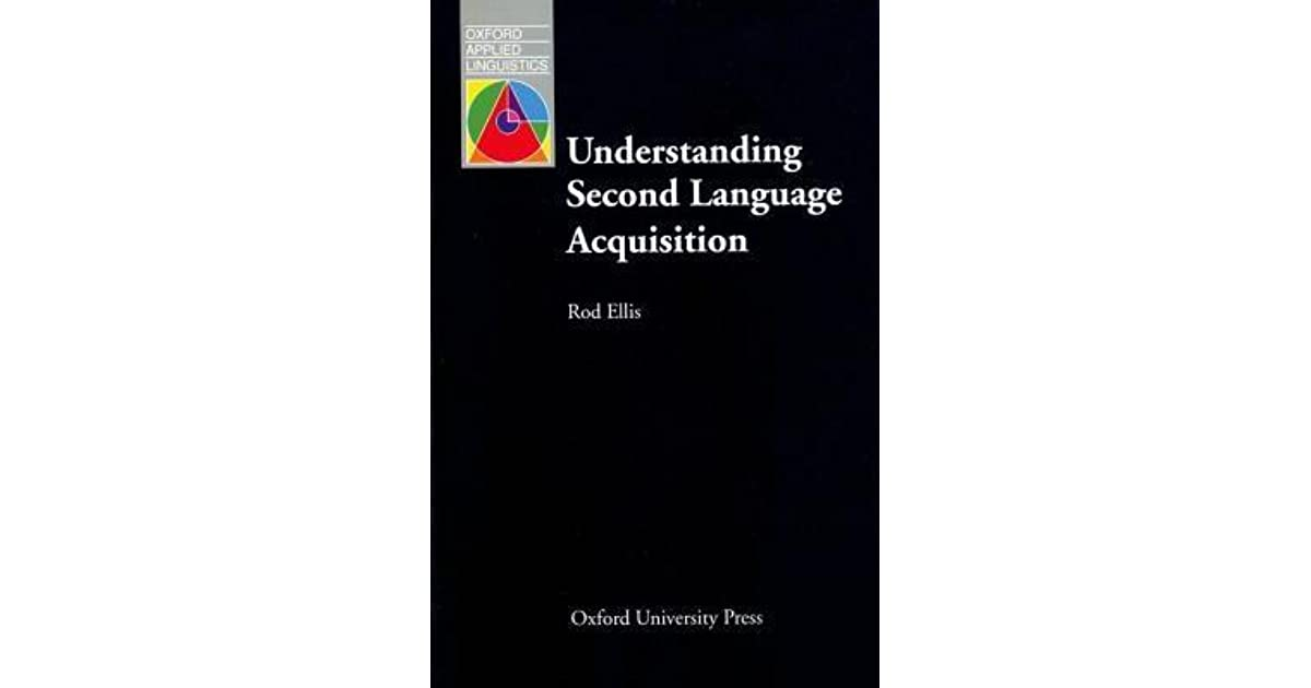 Understanding Second Language Acquisition Rod Ellis Pdf