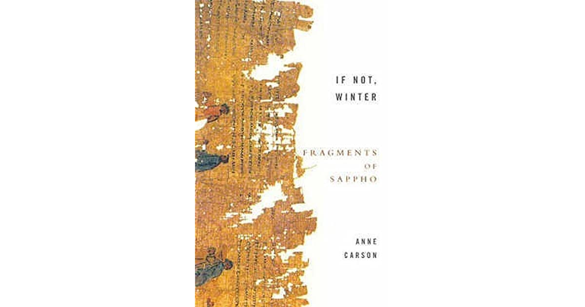If not winter fragments of sappho by sappho fandeluxe Gallery