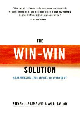 The Win-Win Solution: Guaranteeing Fair Shares to Everybody