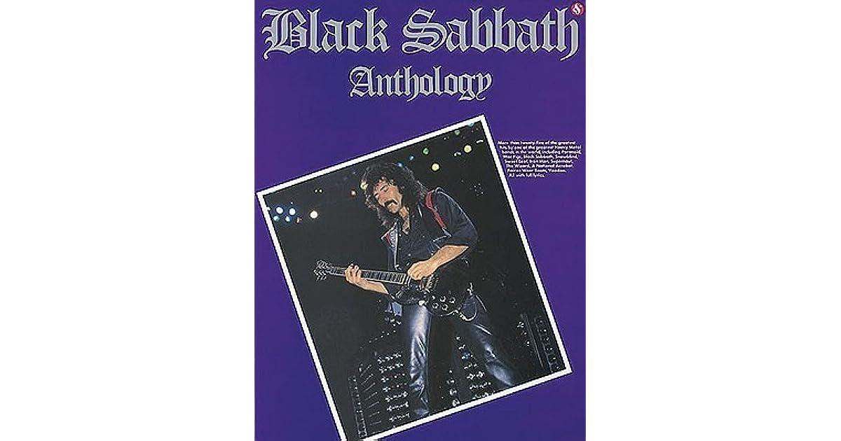 black sabbath anthology by black sabbath. Black Bedroom Furniture Sets. Home Design Ideas