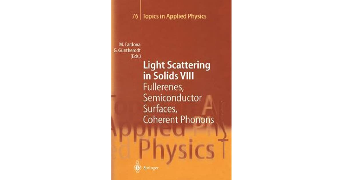 Light Scattering in Solids I