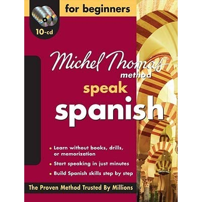 10-CD Beginners Program Michel Thomas Speak Spanish For Beginners