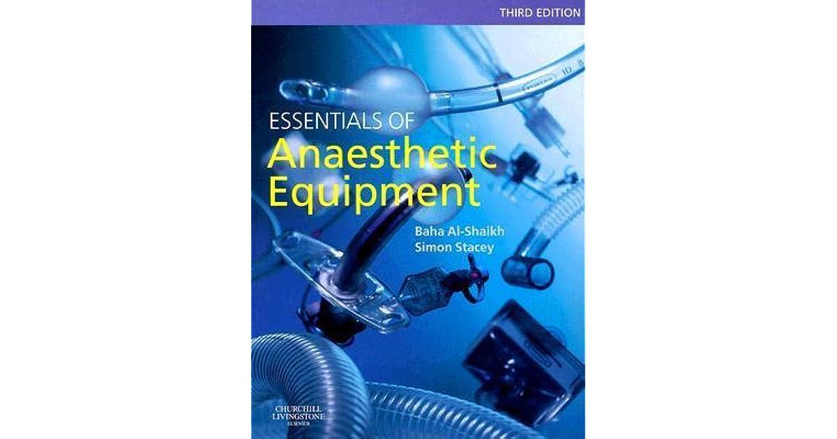 Wards Anaesthetic Equipment Ebook