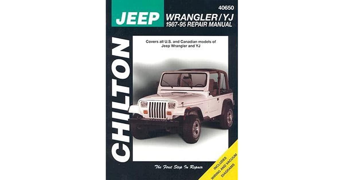 Sensational Jeep Wrangler Yj 1987 95 Repair Manual By Chilton Automotive Books Wiring Cloud Oideiuggs Outletorg