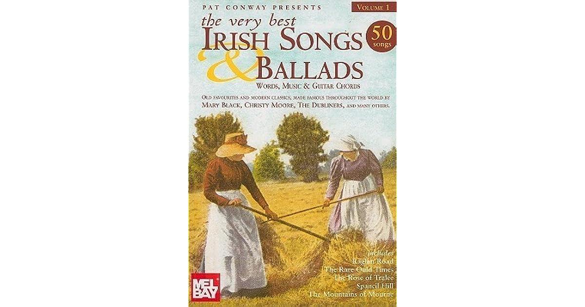 The Very Best Irish Songs Ballads Volume 1 Words Music And