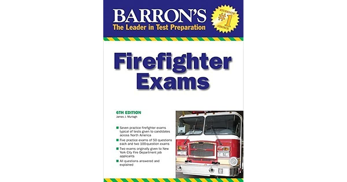 Barron's Firefighter Exams by James J  Murtagh