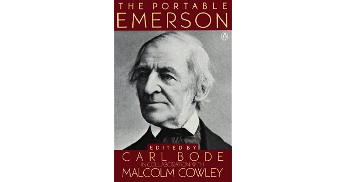 emerson essays and lectures library of america