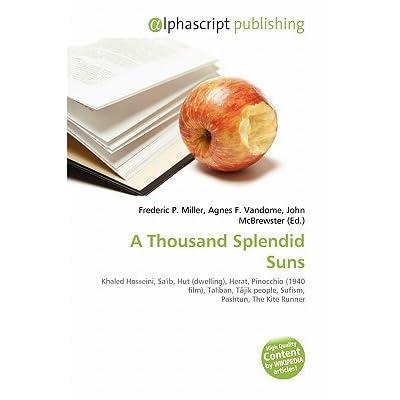 essay on a thousand splendid suns