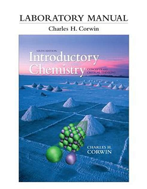 laboratory manual for introductory chemistry concepts and critical rh goodreads com Biology Lab Manual Duke Lab Manual