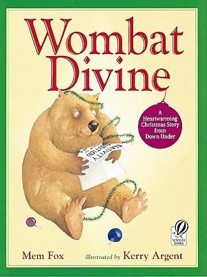 Christmas In Australia Book.Wombat Divine By Mem Fox