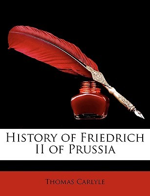 History of Friedrich II of Prussia book cover