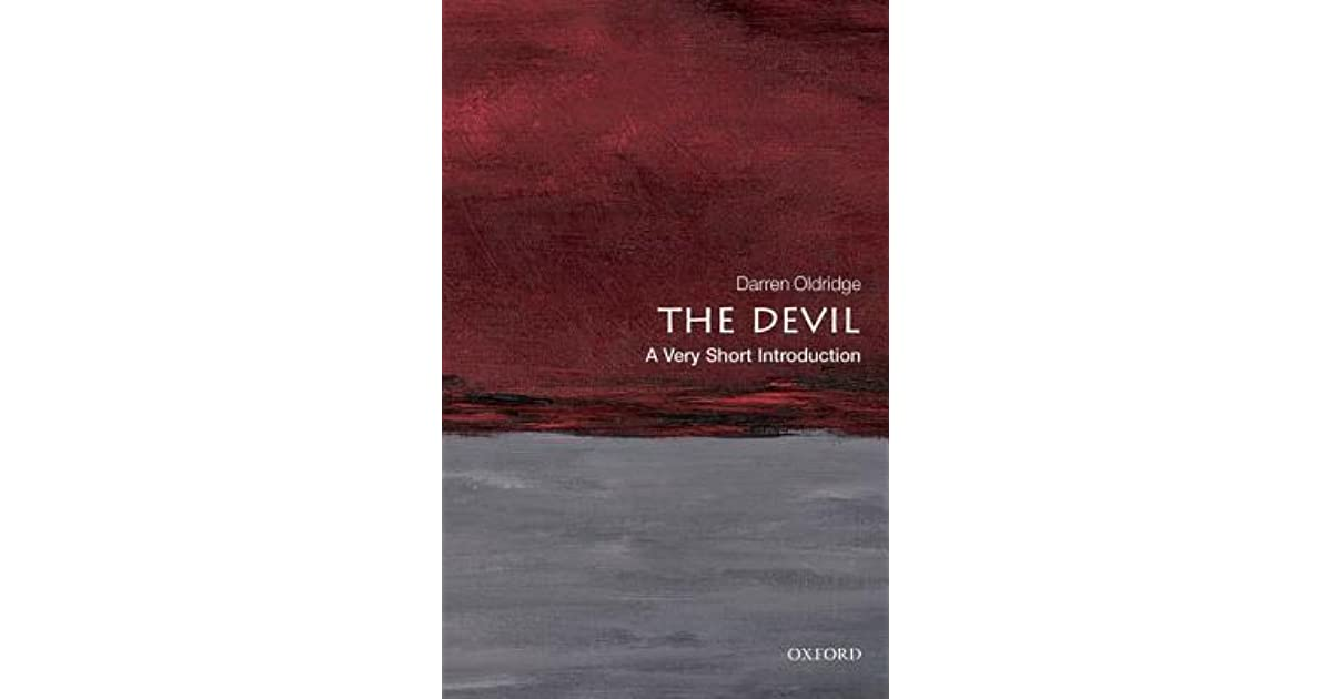 The Devil A Very Short Introduction By Darren Oldridge border=