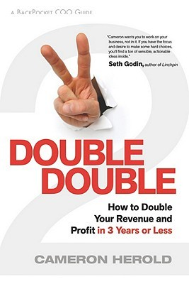 book cover: Double Double by Cameron Herold