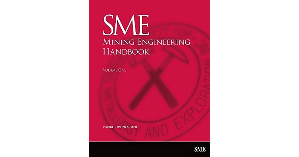 Sme Mining Engineering Handbook 2nd Edition Pdf