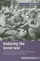 Enduring the Great War: Combat, Morale and Collapse in the German and British Armies, 1914-1918