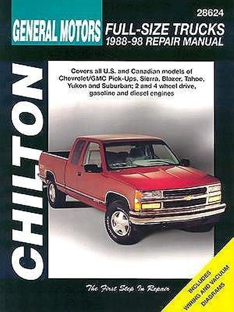 general motors full size trucks 1988 98 repair manual by chilton rh goodreads com service manual trucks volvo service manual trucks.pdf