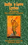 India's Love Lyrics: Including the Garden of Kama