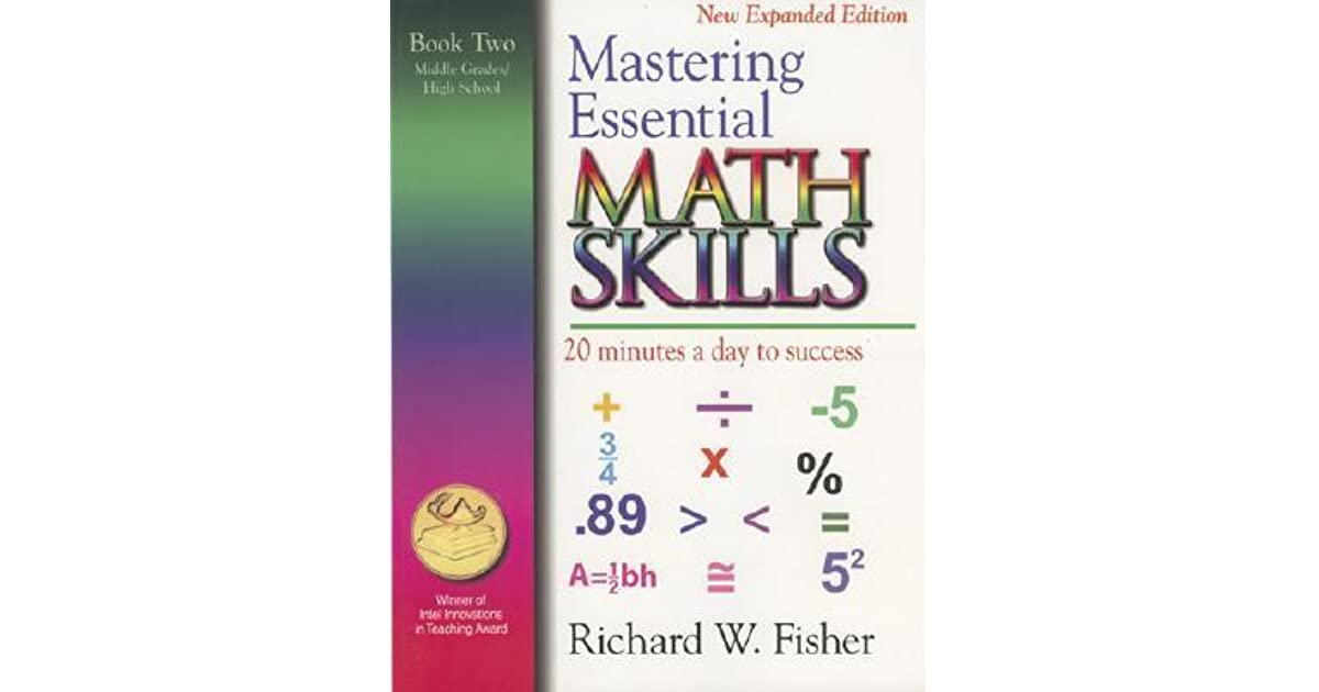 Mastering Essential Math Skills, Book Two, Middle Grades/High School ...