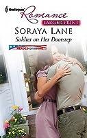 Soldier on Her Doorstep (Harlequin Romance (Larger Print))