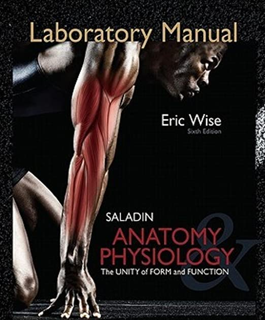 Saladin Anatomy And Physiology Lab Manual - Various Owner Manual Guide •