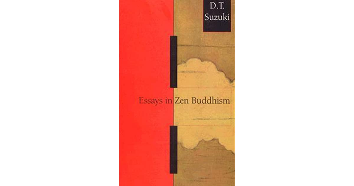 essays in zen buddhism first series by d t suzuki