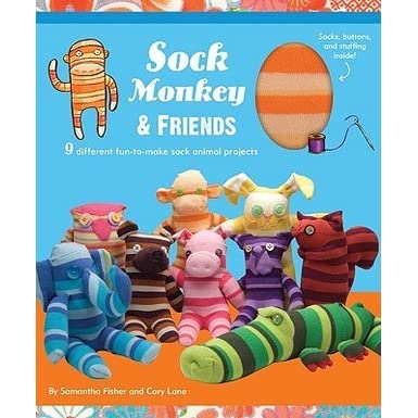 Sock Monkey And Friends Kit By Samantha Fisher