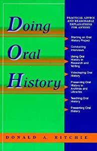 Oral History Series: Doing Oral History