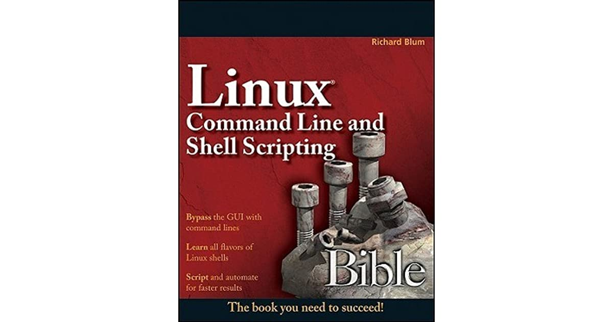linux command line and shell scripting bible 3rd edition