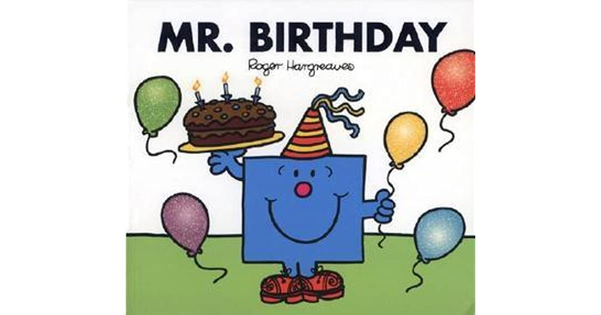 Mr Birthday By Roger Hargreaves